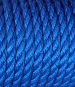 Polypropylenseil multifil 10mm - blau