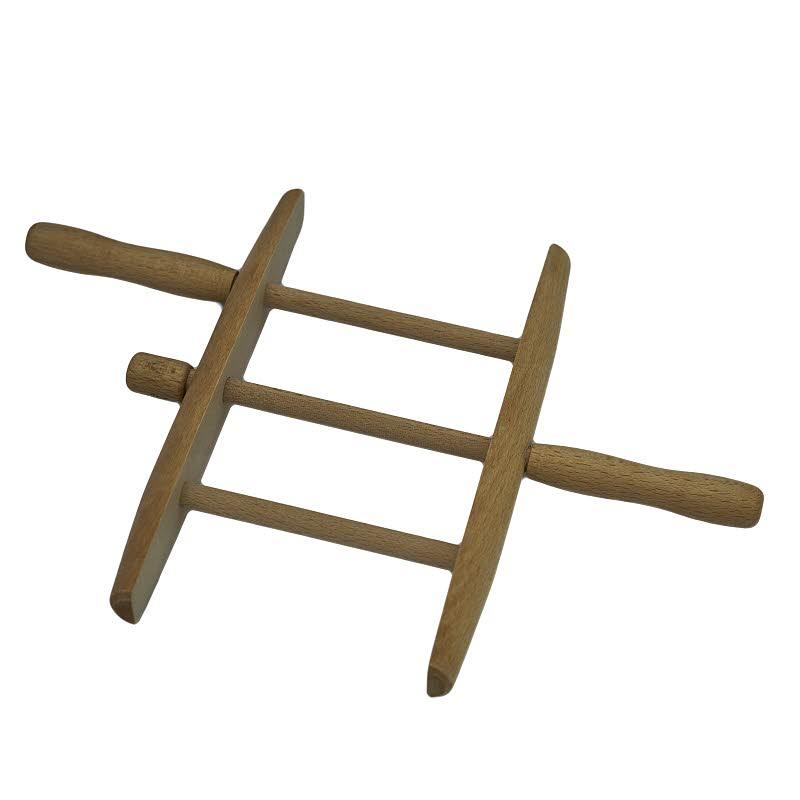 Holzwickler für Wäscheleine