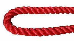 Polypropylenseil multifil 28mm rot