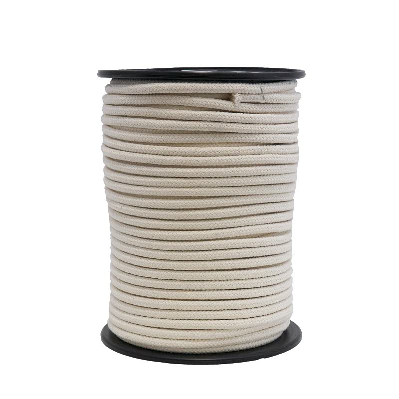 Baumwollseil geflochten Spule a 300 m - 6 mm