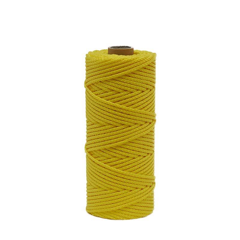 Polypropylen (PP) gefl. gelb 100 m