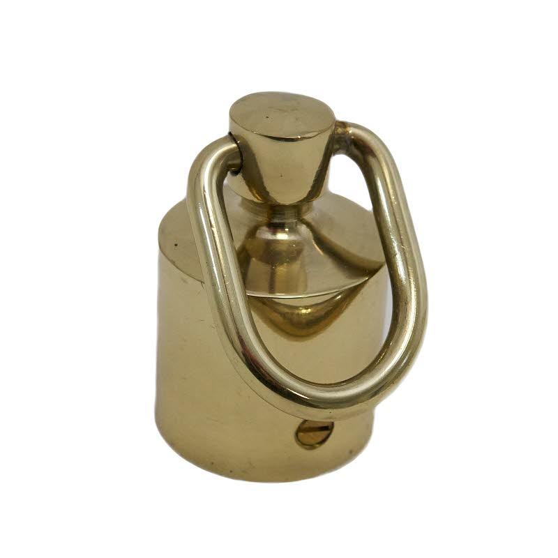 Seilendbüchse 30mm Messing mit Ring