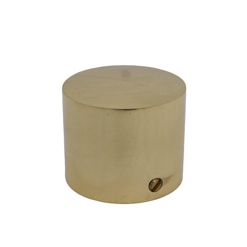 Seilendbüchse 40mm Messing ohne Ring